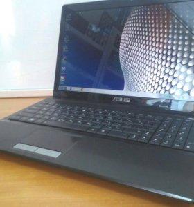 Быстрый ноутбук Asus X53B для работы и дома