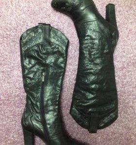 Кожаные сапоги Cavaletto, демисезон, 38 размер