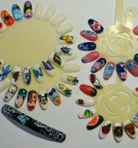 Обучение дизайну и наращиванию ногтей