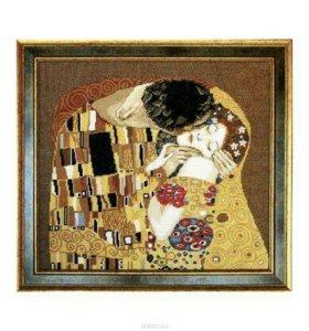 Набор для вышивания Поцелуй Арт.: ЧМ-411