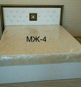Кровать новая с матрасом. Доставка