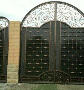 Козырки ворота