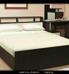 Кровать Соломея с матрасом