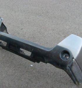 Задний бампер на Nissan x-treil