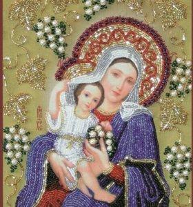 Набор для вышивания НВ 004 Богородица покрывающая