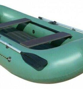 Лодка ПВХ Компакт-275 нд, надувное дно