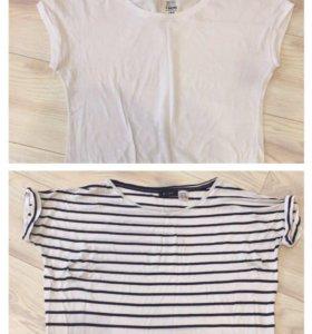 2 футболки хлопок