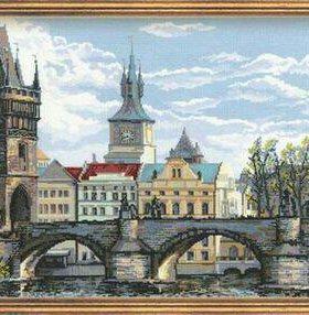 Набор для вышивания Прага. Карлов мост Арт.:1058