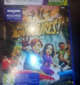 Игра на xbox360 kinect adventures!