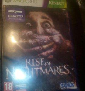Игра на xbox360 rise of nightmares