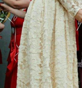 Вечернее/свадебное платье.