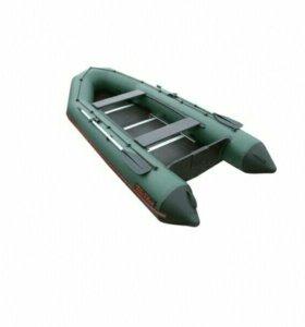 Лодка ПВХ Тайга-340, киль+слань, мотор 15 л.с.