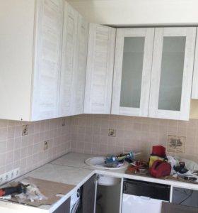 Ремонт мебели регулировка фасадов замена петель