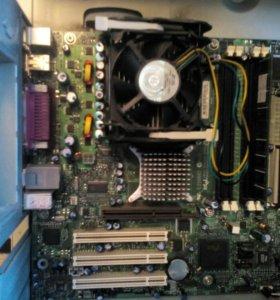 Материнка Intel