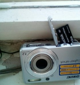 Sony cyber-shot + 2Gb memoryStickProDuo