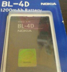 АКБ для Nokia BL-4D
