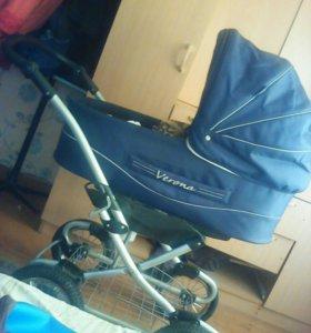 Продам срочно коляску без матраса и накидушек