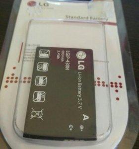 АКБ для LG IP-430N