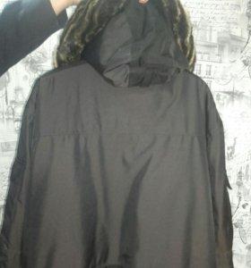 Новая мужская зимняя куртка 54-56 р-р