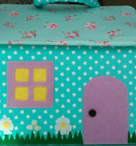 Домик-сумка для игр