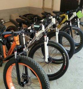 Велосипеды FATBIKE (21-24 скоростей) новый завоз