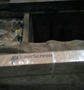 Экран для проектора 180х180 новый