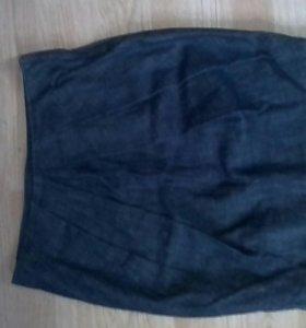 Джинсовая юбка oodji