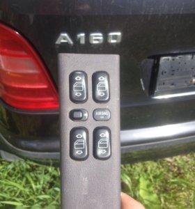 Блок управления стеклоподъемниками Mercedes А160