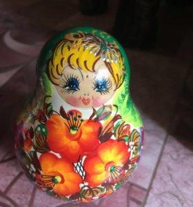 Кукла-неваляшка, коллекционная