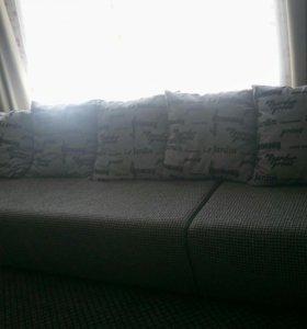 Большой новый диван