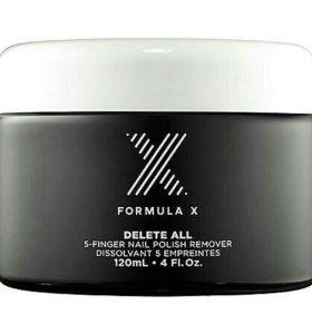 Sephora Formula X delete all