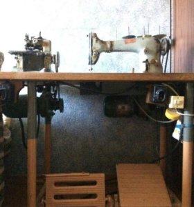 Швейная машина и оверлог