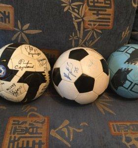 Мячи с автографами