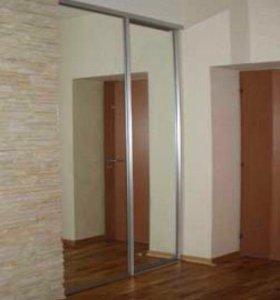 Зеркальные двери для шкафа купе.