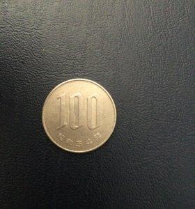 100 иен