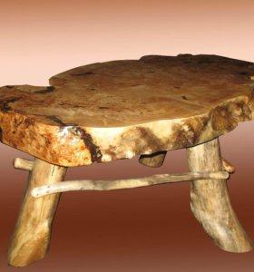 Комплект мебели из капы тополя