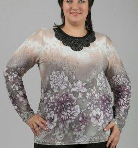 Новая блуза58- 60р