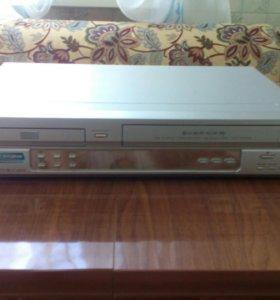 DVD+ видеомагнитофон