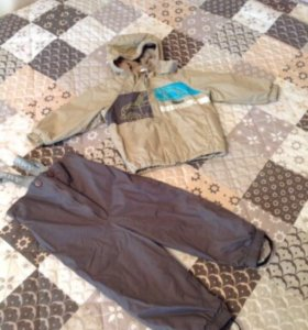 Комплект куртка+ полукомбез Kerry в идеале 92р