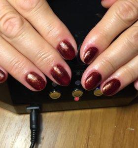 Маникюр + Покрытие ногтей гель-лаком