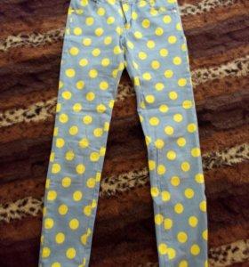 Джинсовые штаны стреч: размер 15-140