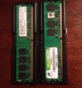 Оперативная память DDR2 2x1Gb 2Gb