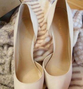 Туфли новые кожа Nine West