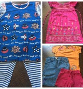 Одежда на лето 116-122