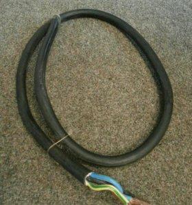 Продаю кабель медный-(4×16)-170см-(220-380Вт)