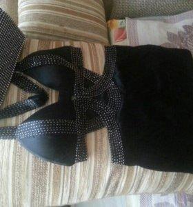 Платье BEBE 40-42+клатч