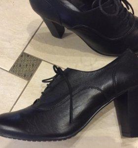 П/ботинки, размер 39/40, нат.кожа