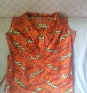 Платье шелк натуральный