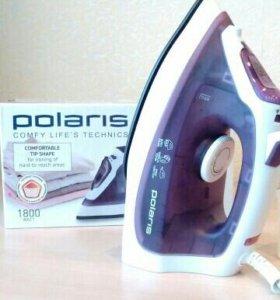 Утюг новый Polaris с отпаривателем