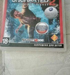 Очень интересная игра Uncharted2